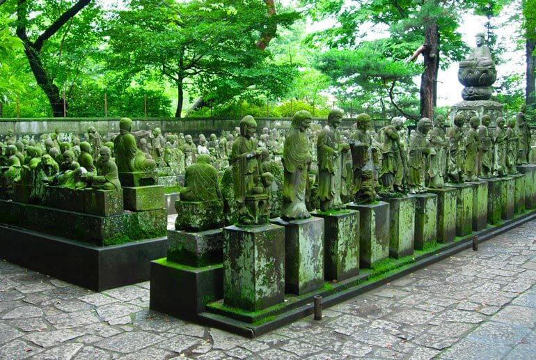 500 Patung di Kuil Kitain