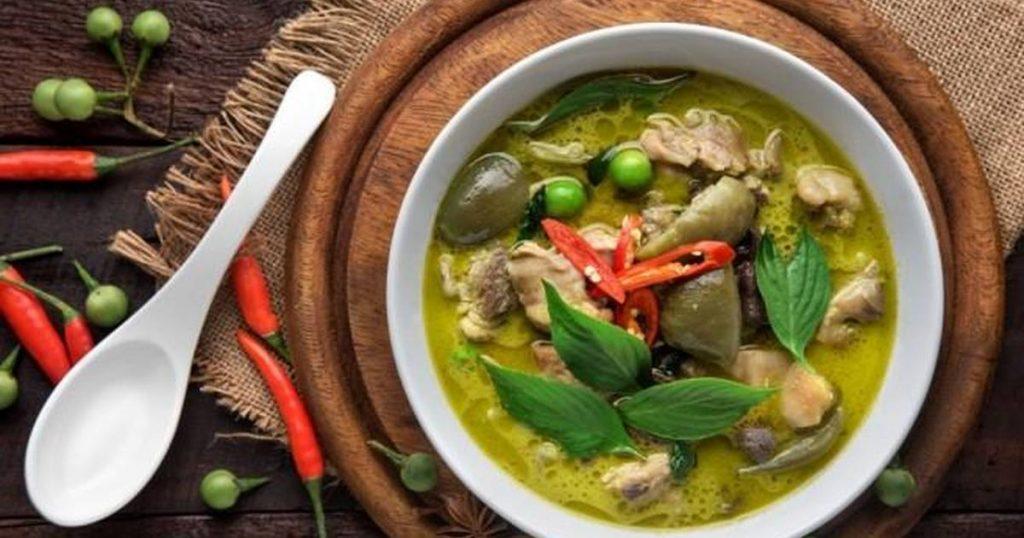 Gaeng Kiew Wan Gai, Thailand Green Curry | Auroraxa
