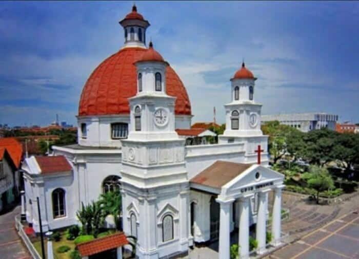 Gereja Blenduk Tempat Wisata Semarang