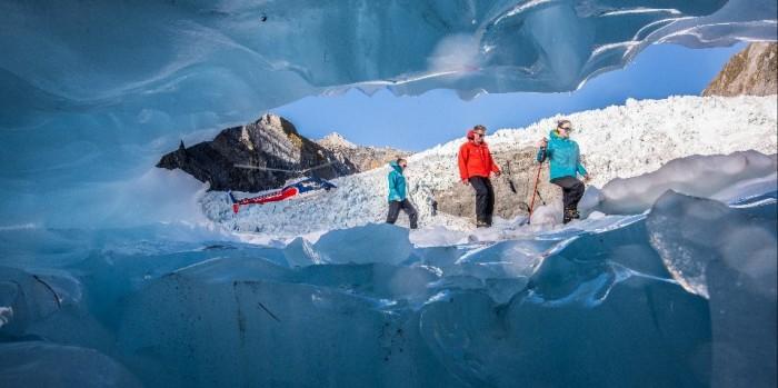 Glecier Heli-Hikes di New Zealand
