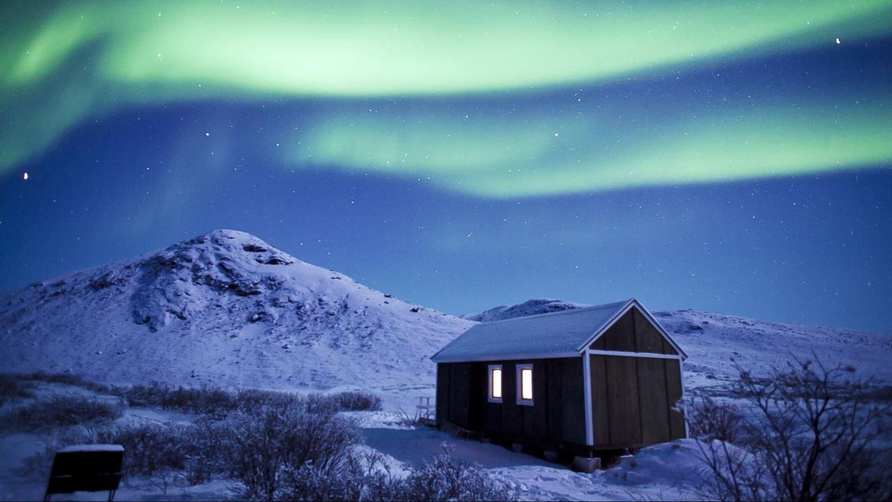 Indahnya Aurora di Kulusuk Greenland