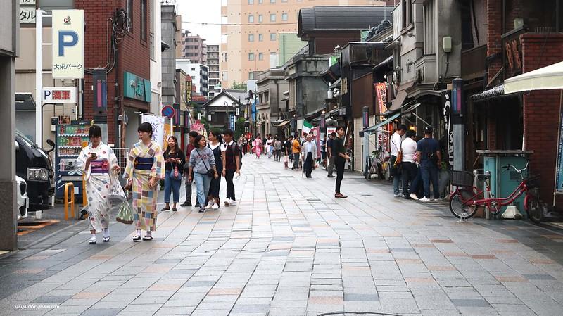 Itinerary berlibur di Kawageo Jepang