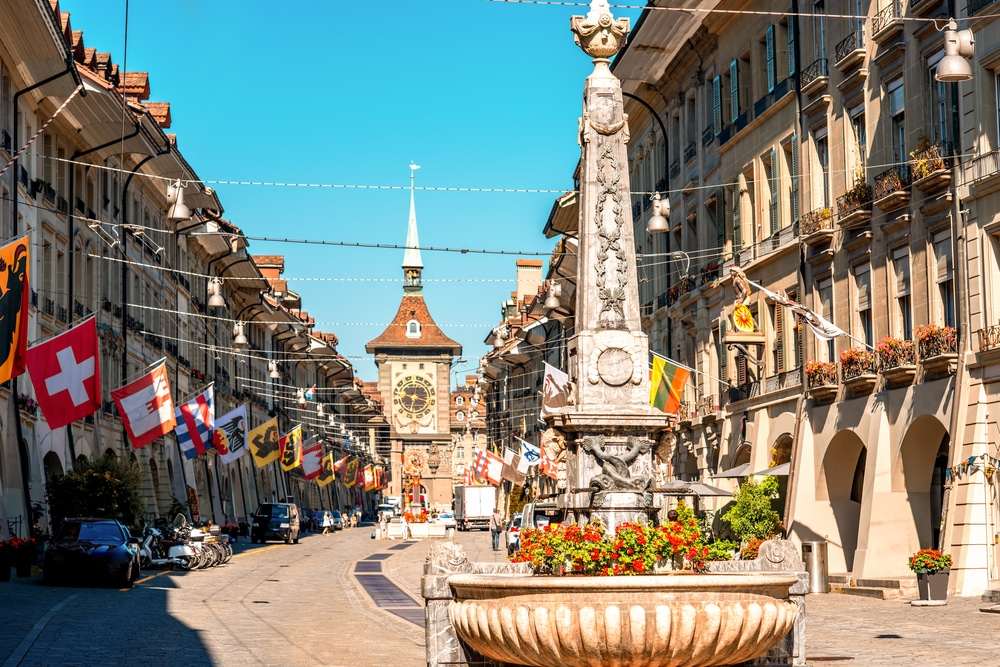 Keindahan Bern Ibu Kota Swiss