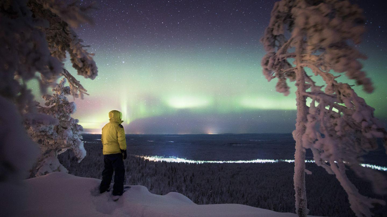 Luosto, Finlandia Tempat Terbaik Melihat Cahaya Utara