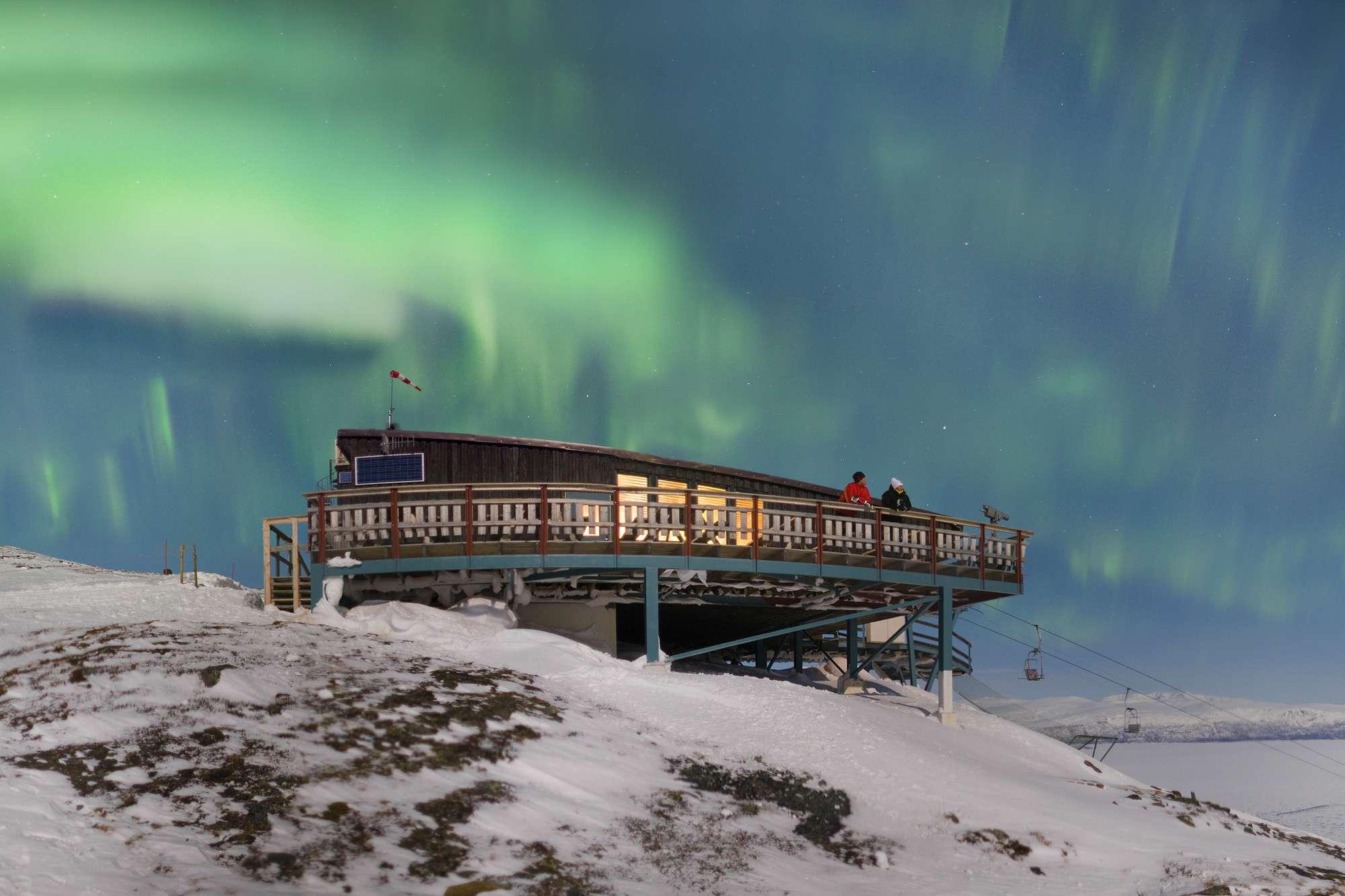 Melihat Aurora di Abisko Swedia