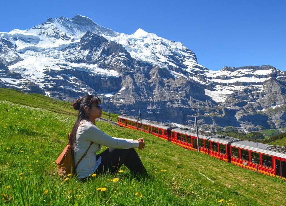 Tempat Wisata Jungfraujoch di Swiss