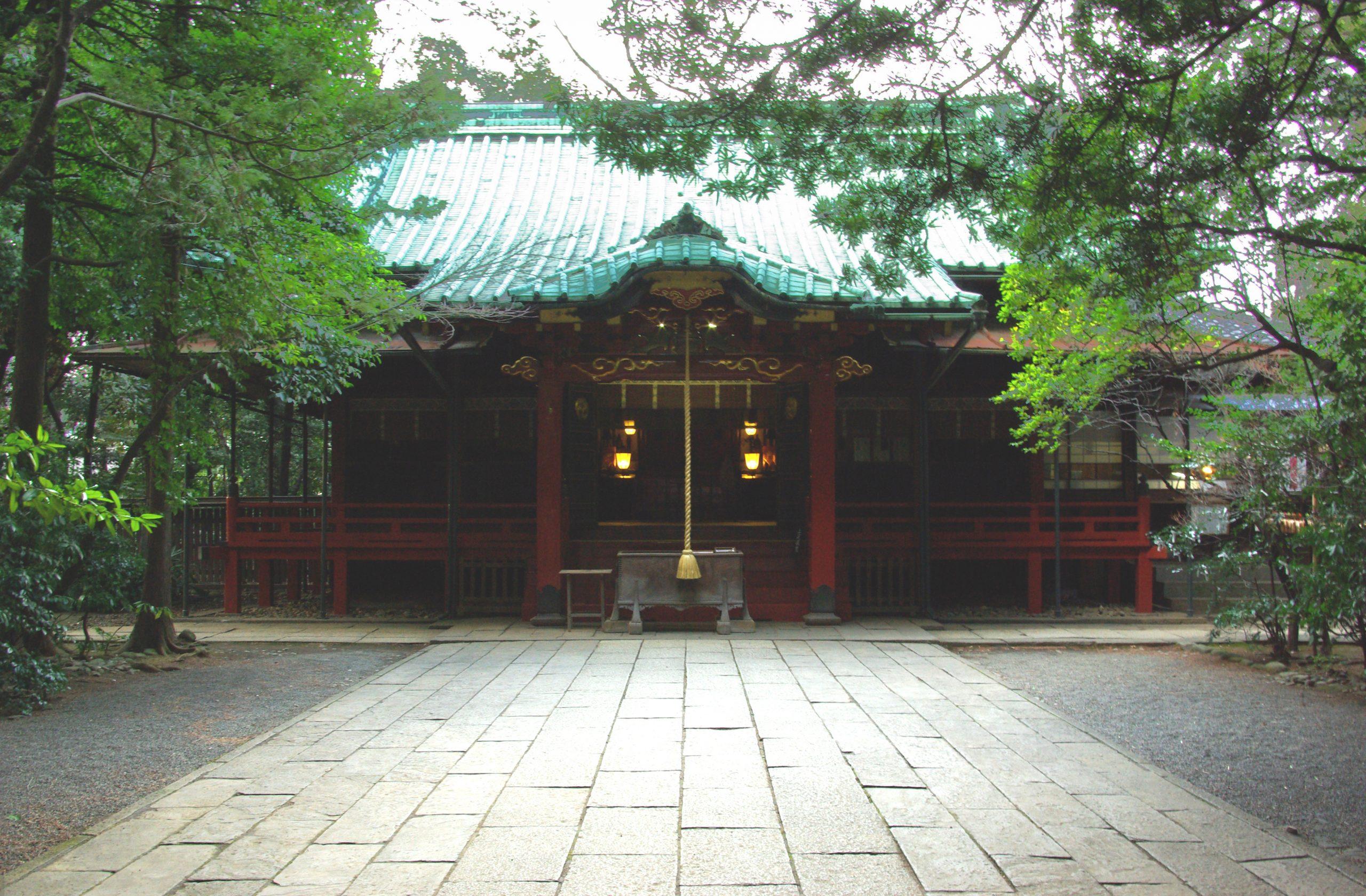 Wisata Kuil Kawagoe Hikawa