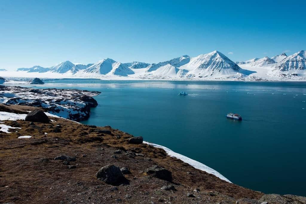 Danau Svalbard Kepulauan antara Norwegia dan Kutub Utara