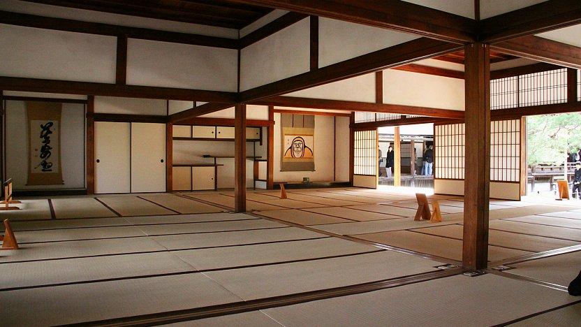 Di dalam Kuil Tenryuji