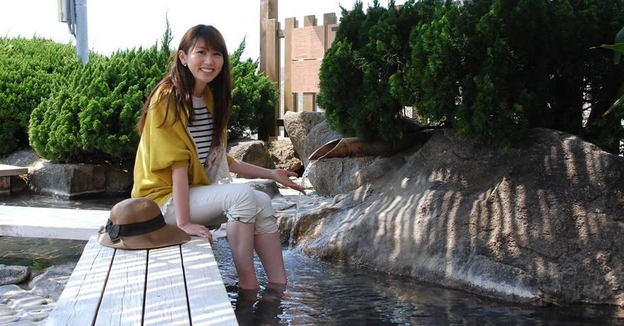 Foot Bath di Arashiyama
