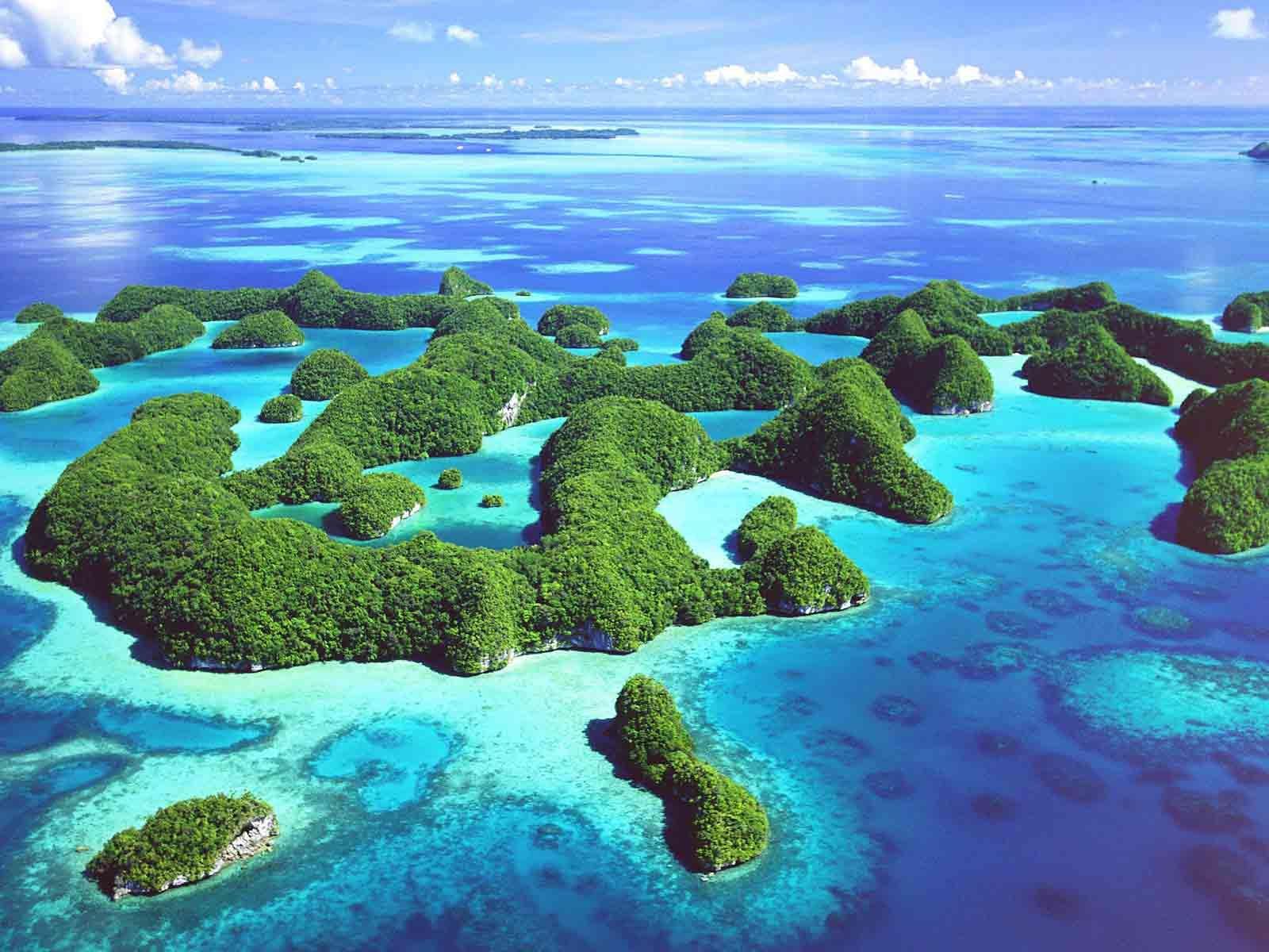 Kepulauan Rock di Palau