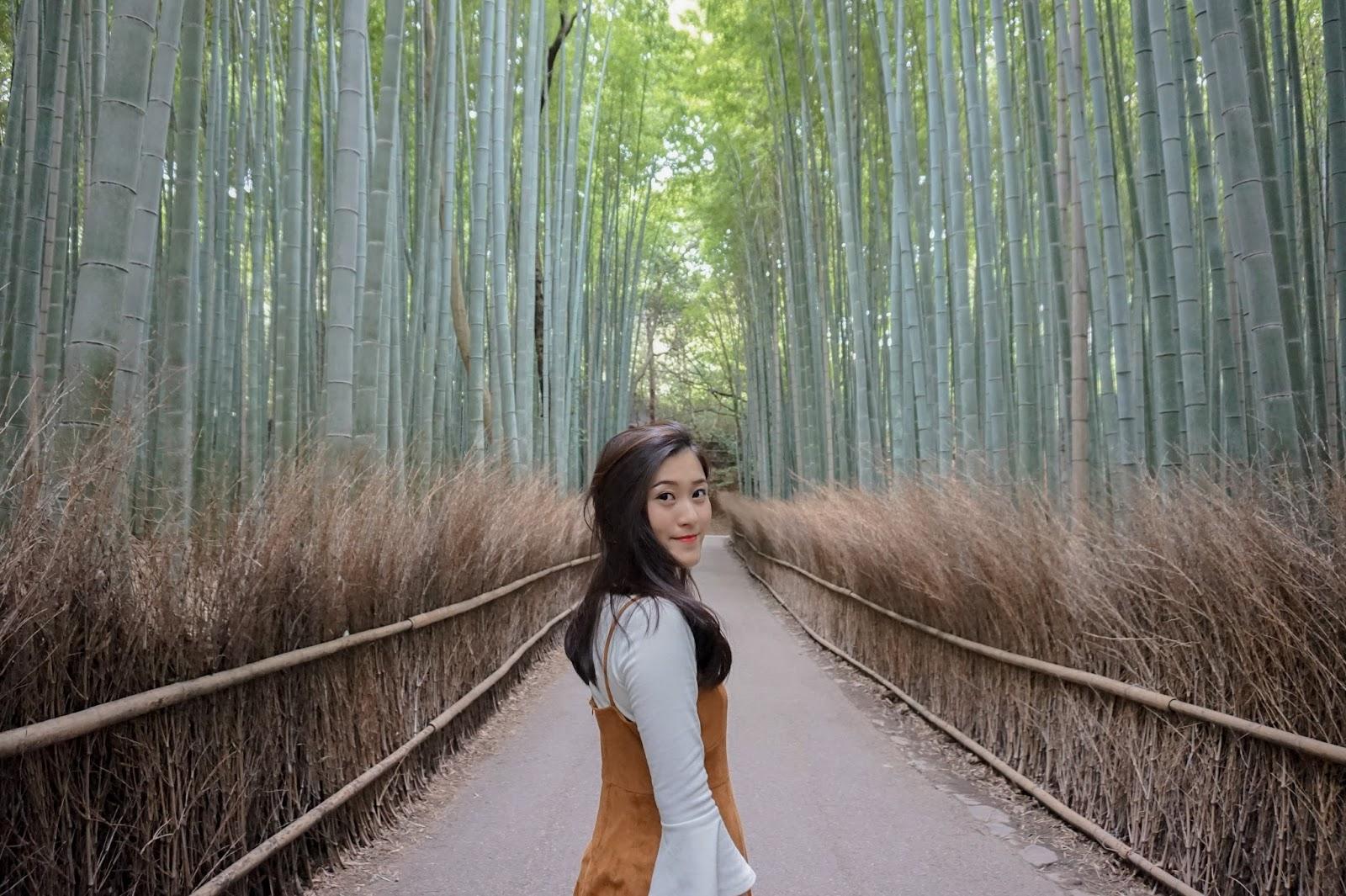 Kunjungi Hutan Bambu Sagano