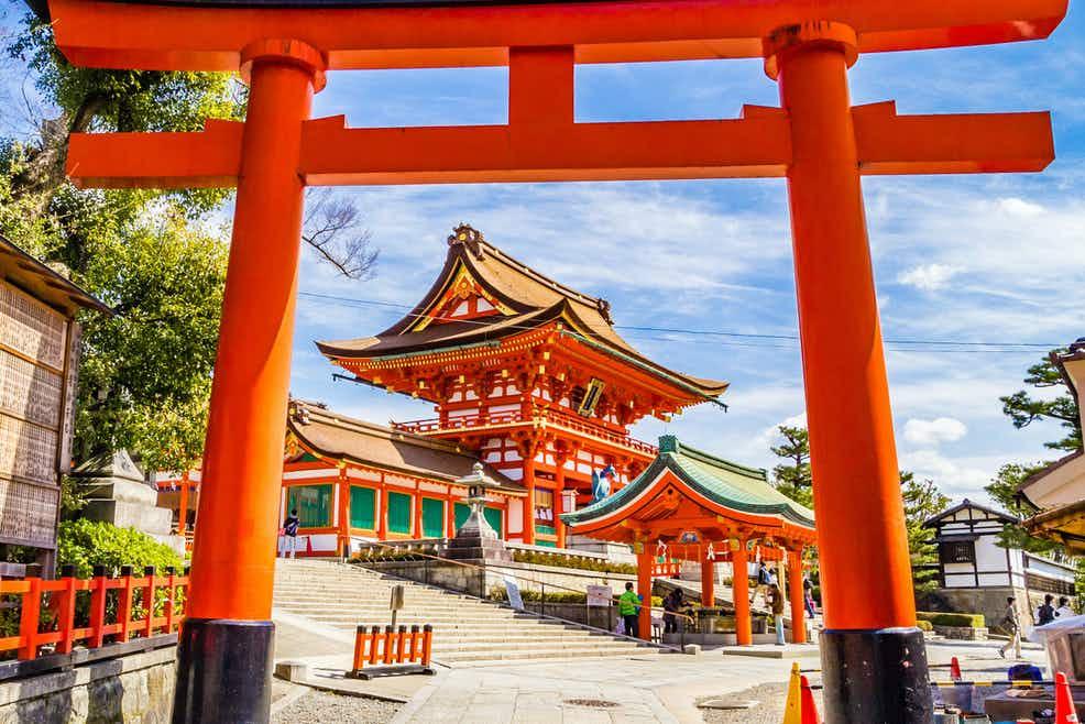 Masuki Pasar Fushimi Inari