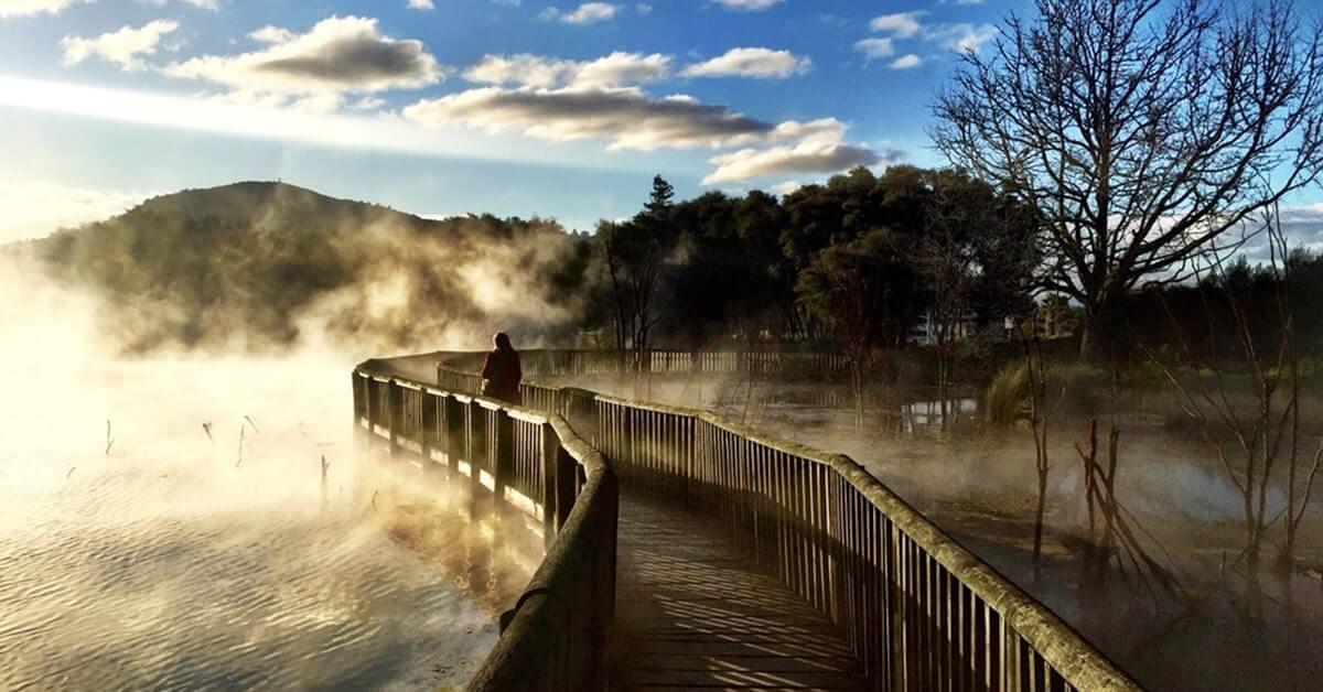 Mata Air Panas Rotorua, Selandia Baru