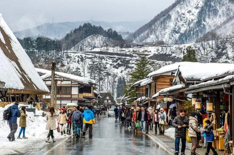 Musim Dingin di Shirakawago