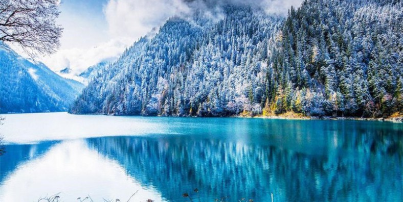 Taman Nasional Jiuzhaigou China