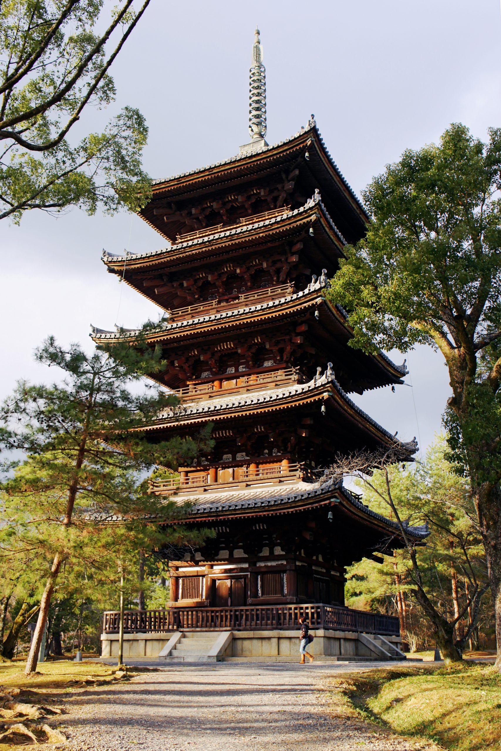 Wisata ke Pagoda Ninnaji Kyoto