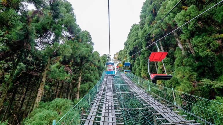 Kursi Gantung Gunung Takao