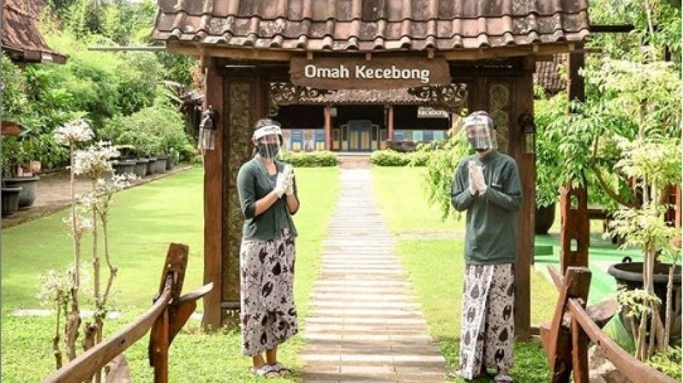 Omah Kecebong Hotel Unik Yogyakarta