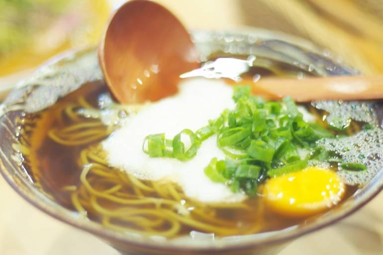 Tororo Soba Makanan Khas Gunung Takao