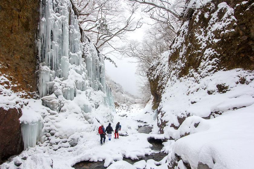 Unryu Keikoku Waterfall
