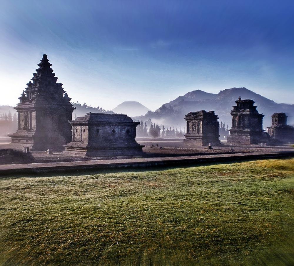 Komplek Wisata Candi Arjuna Dieng