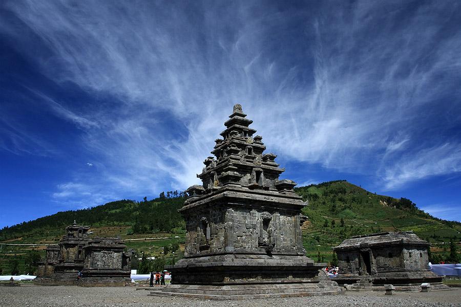 Wisata Candi Arjuna Dieng, Peninggalan Kerejaan Mataram