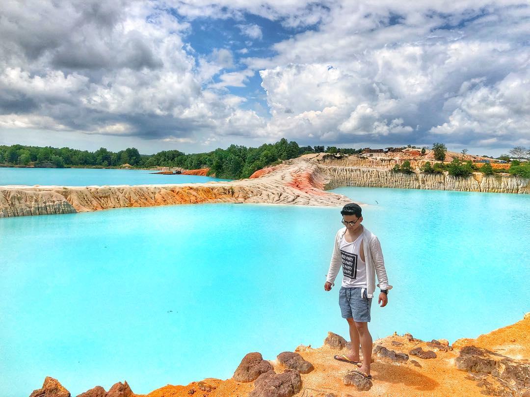 Danau Biru Kijang Bintan