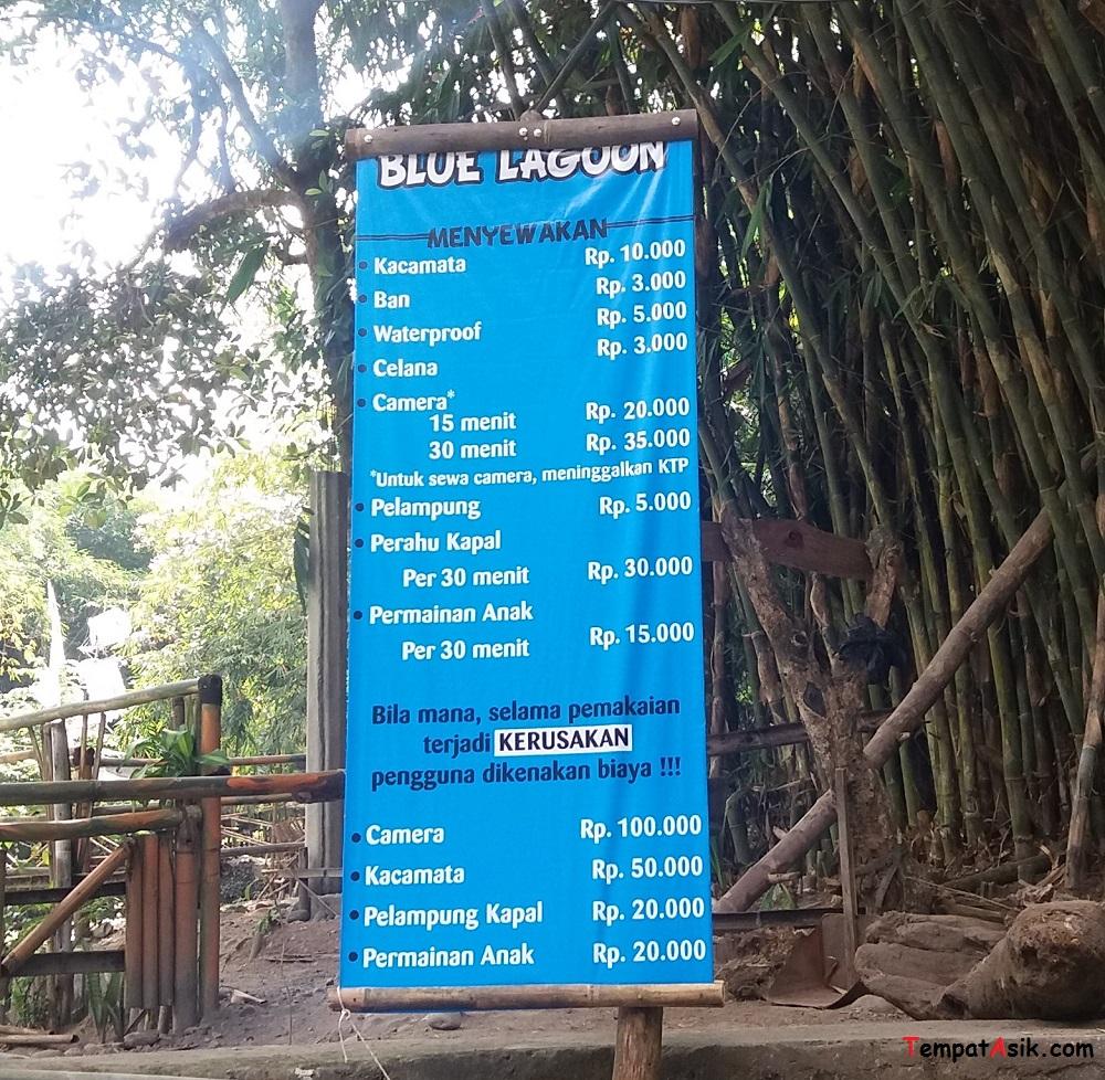 Harga Sewa Perlengkapan Blue Lagoon Jogja